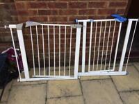 2 stair gates
