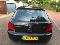2008 Peugeot 307 1.6 16v S 5dr Manual 1.6L @07445775115@