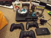 PS3 250GB, WITH GAMES