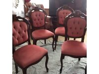 Dining chairs /bedroom etc