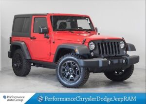 2016 Jeep Wrangler Willys Edition * Bluetooth * 6 Speed Manual