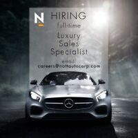 HIRING Luxury Sales Specialist