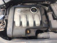 VW Golf mk5 1.9 tdi ENGINE 2005-2009 101 miles fits A3 Skoda Seat diesel engine code BKC