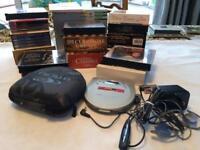 Sony Walkman with Placido Domingo, Pavarotti and Maria Callas cds