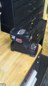 *SOLD***Craftsman Charger and 19.2 volt battery (NEW PRICE) 5.00