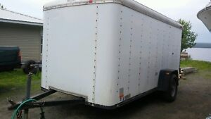 12' enclosed trailer