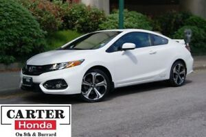 2014 Honda Civic Si + COUPE + NAVI + LOW KMS + CERTIFIED!