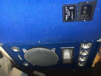 Sound lab pa speakers for sale 200w rms