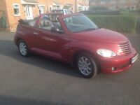 CHRYSLER PT CRUISER CONVERTABLE