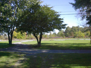 LARGE WATERFRONT PROPERTY WITH COTTAGE ON OWNED LAND