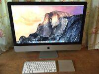 """Apple 27"""" iMac i5 (mid2011)"""