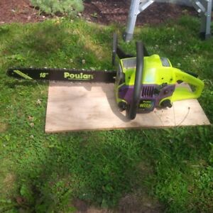 POULAN 42 CC 18 INCH CHAIN SAW (WILD THING) IN GOOD CONDITION