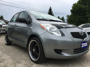 2008 TOYOTA YARIS HATCHBACK WITH 17 ALLOYS AND MICHELINS!!
