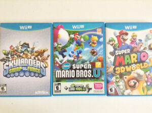 Ensemble de jeux Wii U (Lire Description)