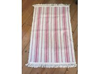 Small Pink Rugs x4