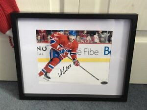 Montreal Canadiens Alex Galchenyuck signed and framed photo