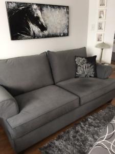 Divan Chaise et TV avec meuble