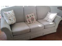 3 Piece Suite Sofa and Armchairs