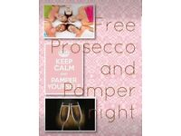 FREE Pamper & Prosecco Night