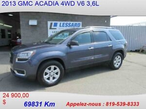 2013 GMC ACADIA 4WD SLE 8 PASSAGER