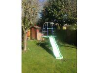 ELC climbing frame & slide