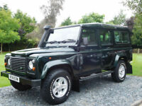 1998 Land Rover 110 DEFENDER 300 TDI 9 Seater ( 54000 Miles !! )