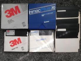 Vintage 5.25 Inch Floppy Disks