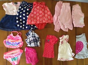 Lot of 0-3 months baby girl clothes