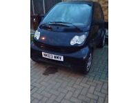 smart car 2003 spares or repairs starts and drives