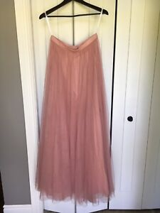 Boho vintage long tull skirt from Etsy bridesmaid dress
