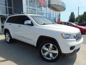 2012 Jeep Grand Cherokee Overland 4X4 CUIR NAVIGATION TOIT PANOR