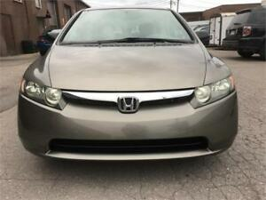2008 Honda Berline Civic DX-WOW 125300 KM CERTIFIED-WOW