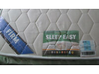 SINGLE SLEEP EASY ORTHOPEDIC MATTRESS FIRMER ON ONE SIDE SOFTER ON REVERSE IDEAL FOR YOUNG OR OLDER