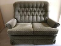 Settee and two arm chairs