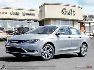 2016 Chrysler 200 LIMITED | DEMO | ONLY $141 BI-WEEKLY | 8.4 TOU