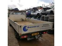"Mercedes Sprinter dropside pickup body 85"" wide 164"" long outside chassis width 41"""