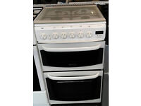 Y160 white cannon 50cm gas cooker comes with warranty can be delivered or collected