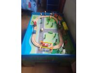 Kids train set ( with play table)