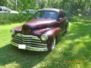 1947 Custom Chevy Business Coupe