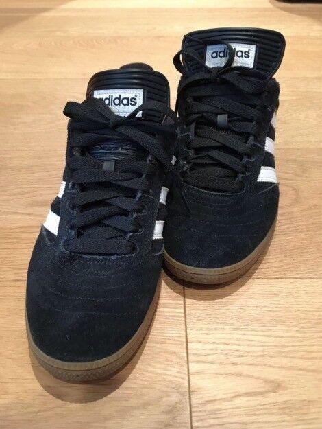 Mens Adidas Busenitz Pro UK Size 9 - Black/Running White