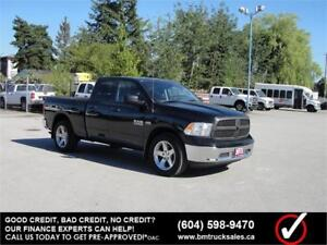 2015 RAM 1500 ST QUAD CAB SHORT BOX 4X4 *ONLY 40,000KM*