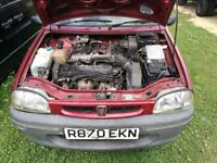 1997 Rover 100 Ascot 1.1 VERY LOW MILES very solid