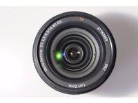 Sony 16-80mm f3.5-4.5 Zeiss Vario Sonnar T* DT Lens
