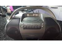 Panasonic Portable Stereo CD System