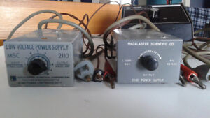 Source de courant CC        Power supply DC