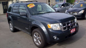 2008 FORD ESCAPE AWD $ 5995 / CERTIFIED / 1 YEAR WARRANTY