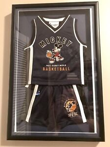 <2006  Framed  Mickey #28 embroidered Basketball Jersey Shorts