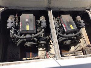 Twin 4.3 Mercruiser motors