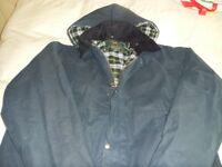 mens waxed jacket size xxl