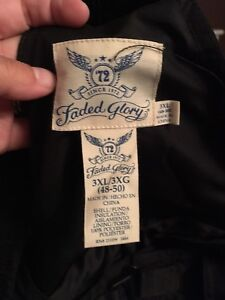 3xl faded glory snow pants with tags still on